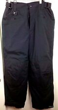 "BLACK DOT Ski Snow Board Pants Medium Size Length 44"" Black"