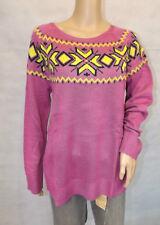 ★ Markenpullover ★  L  44/46 ~ Pullover ~ pink ~ Norwegerpullover ~ NEU