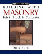 Building with Masonry: Brick, Block, and Concrete-ExLibrary