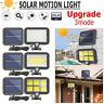 100 LED Solar Power PIR Motion Sensor Outdoor Garden Light Security Flood Lamp