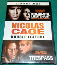 NICOLAS CAGE,  Bad Lieutenant: Port of Call New Orleans: b/w Trespass, DVD, NEW