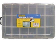"""Small Accessories Storage Box Multi Compartment Organiser Box (11 x 7 x 1.5"""")"""