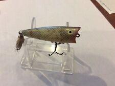 vintage heddon tiny chugger topwater bass fishing lure