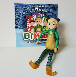Elf Mates Elf On The Shelf Toy Maker Doll Figure & Book The Story of Elfmates