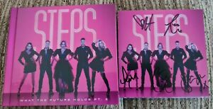 STEPS WHAT THE FUTURE HOLDS PART 2  SIGNED DELUXE CD