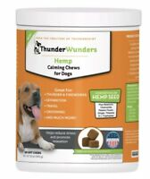 ThunderWunders Hemp Calming Chews For Dogs 180 Soft Chews