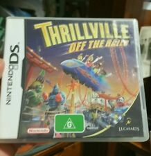 Thrillville Off The Rails NO GAME (CASE BOOKLET AND SLEEVE ONLY) NDS - FREE POST