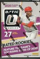 2020 Donruss Optic Baseball Factory Sealed Blaster Box - Jasson Dominguez?