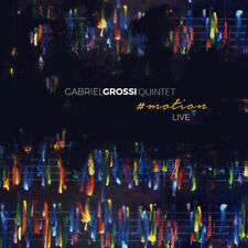 Gabriel Grossi Quintet : #motion: Live CD (2019) ***NEW*** Fast and FREE P & P