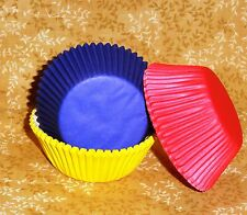Red,Yellow,Blue,Primary Standard Cupcake Papers,Wilton,75 Ct.415-987,Bake Cups