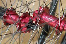 Hope Retro Red XC Hubs Mavic EX721 Disc Wheelset Pair Wheels Front Rear 26 DH