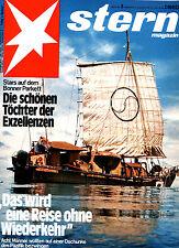 Magazin STERN  Nr 3 v 1975, Tai Ki im Pazifik; Mode - Bären am Busen; Datsun 260