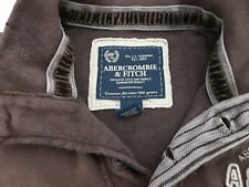 Brown Abercrombie & Fitch Sweatshirt Mens XXL Brown collared rugby style top