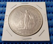 1898 British Trade Dollar Silver Coin