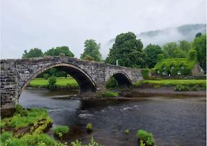 BN&S! Lais 1000 Piece Jigsaw Puzzle - Old Bridge, Conwy, Wales