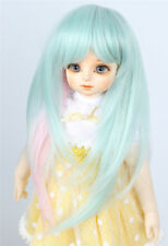 "8-9"" 1/3 BJD Wig Dal Pullip SD LUTS DOD Dollfie Doll Wig three color Layered"