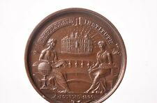Prize medal photography in bronze. To George H. Wright for photography...