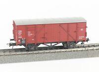 ROCO Spur H0 46001 gedeckter Güterwagen Gklm, DB, Epoche IV, OVP, AC