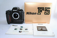 """NEAR MINT"" Nikon F5 35mm SLR Film Camera Body Only from Japan #242"