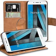 Handy Hülle für Honor 6A Case Schutz Tasche Cover Basic Flip Etui Bookcase