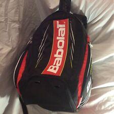 Babolat Aeropro Tennis Backpack Bag Black Yellow White Racket Bag