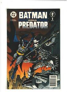 Batman versus Predator #1 VF+ 8.5 Newsstand DC/Dark Horse Comics 1991