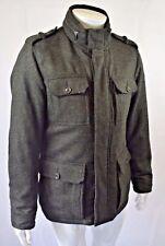 Bnwt Hackett London Wool Arborfield Jacket In Olive - Size Medium - RRP £525!