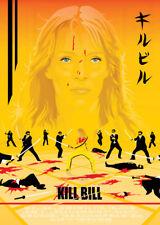 Kill Bill Art Print Alt Movie Poster 00s Quentin Tarantino NT Mondo Grindhouse
