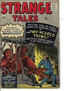 Strange Tales 95 Two Headed Thing VG 1962 Glossy Kirby