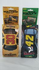 Vintage Traks Pennzoil Mello Yellow Racing Team Card Set Kyle Petty Mike Waltrip