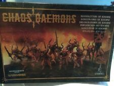 WARHAMMER 40K Chaos Daemons Bloodletters of Khorne Miniatures NEW AND SEALED