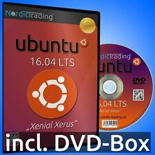 Ubuntu 16.04.6 LTS 32bit DVD Linux Betriebssystem Markenware