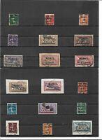 Memel, Litauen 1920-1922, Einzelwerte aus MiNrn: 18 - 118 o, geprüft Hauslau BPP