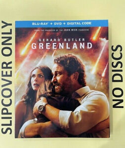 Greenland (2021) - Blu-ray Slipcover ONLY - NO DISCS