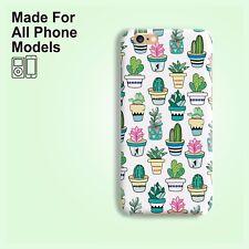 Cactus Succulent Phone Case iPhone 11 Pro Max XS X 8 8+ 7 Plus Galaxy S8 S9 S10