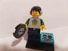 Genuine Lego minifigures Series 8 DJ minifig