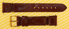 18mm SPEIDEL Oiled Leather Watch Strap Band BROWN <<NWoT>>