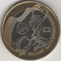 2002 Commonwealth Games £2 Two Pounds Coin |England | Pennies2Pounds