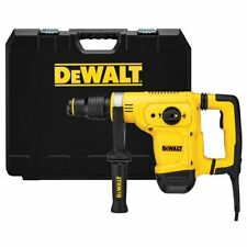 Dewalt D25810K 10.5-Amp de 12 libras SDS Max con Cable Kit con martillo de escoria shocks