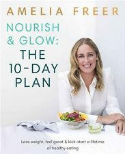 Nourish Food Cook Book Eating Diet Vegan Vegetarian Plan sugar Dairy Gluten Free