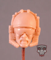 "MH324 Custom Cast Sculpt Male Head for use with 3.75"" 1:18 action figure"