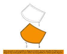 KIA OEM 04-09 Spectra Rear Window Glass-Reveal Molding 871312F000