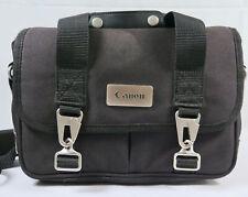 Canon Black Camera Shoulder Strap Bag with Metal Clasps Handle Shoulder Strap