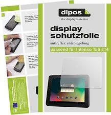 2x Intenso Tab 814 Schutzfolie matt Displayschutzfolie Folie Antireflex 1a dipos