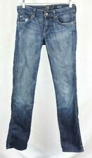 Seven 7 For All Mankind Womens Size 26 Kate Jeans Light washed Straight Denim