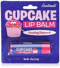 Cupcake Lip Balm Frosting Dessert Flavored Scented Novelty Gift   #235818