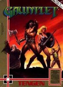 Gauntlet Tengen NES Nintendo Game