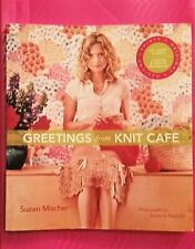 GREETINGS FROM KNIT CAFE By Suzan Mischer EXCELLENT CONDITION STC CRAFT CLASSIC