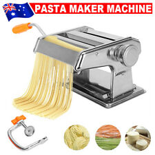 Pasta Noodle Maker Machine Cutter for Fresh Spaghetti 6 Thickness Settings Fcb9
