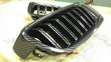 MIT CARBON LOOK FRONT KIDNEY GRILLE BMW F30 F31 F35 3 SERIES 2012-ON